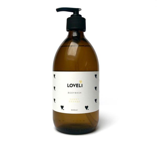 Loveli body wash - Navulling Sunny Orange